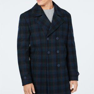 Size 38R Men's NWT Tommy Hilfiger Wool Overcoat